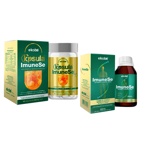 Kit K'psula ImuneSe + ImuneSe Líquido - Ekobé