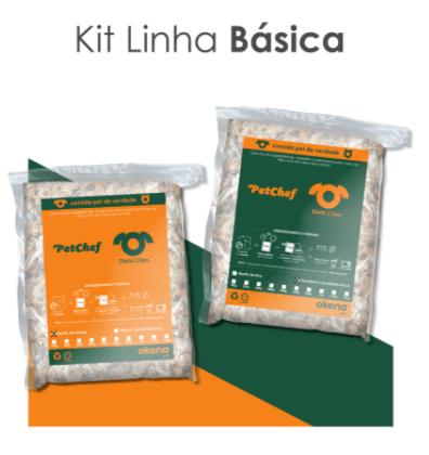 Comida para Pet - KIT LINHA BÁSICA 4 unidades - Petchef 500g