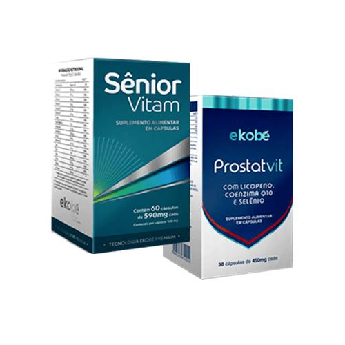 Kit Sênior Vitam + ProstatVit - Ekobé