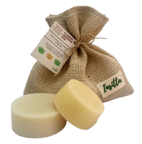 Shampoo Sólido de Muru Muru, Amêndoas e Laranja Doce + Condicionador Sólido de Cupuaçu, Pracaxi e Laranja Doce INSITTA