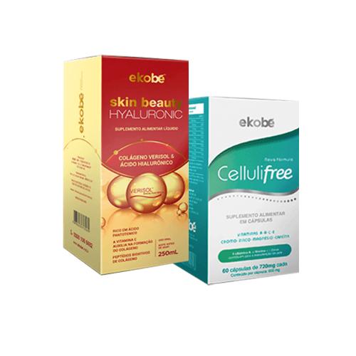 Kit Skin Beauty Hyaluronic + Cellulifree - Ekobé