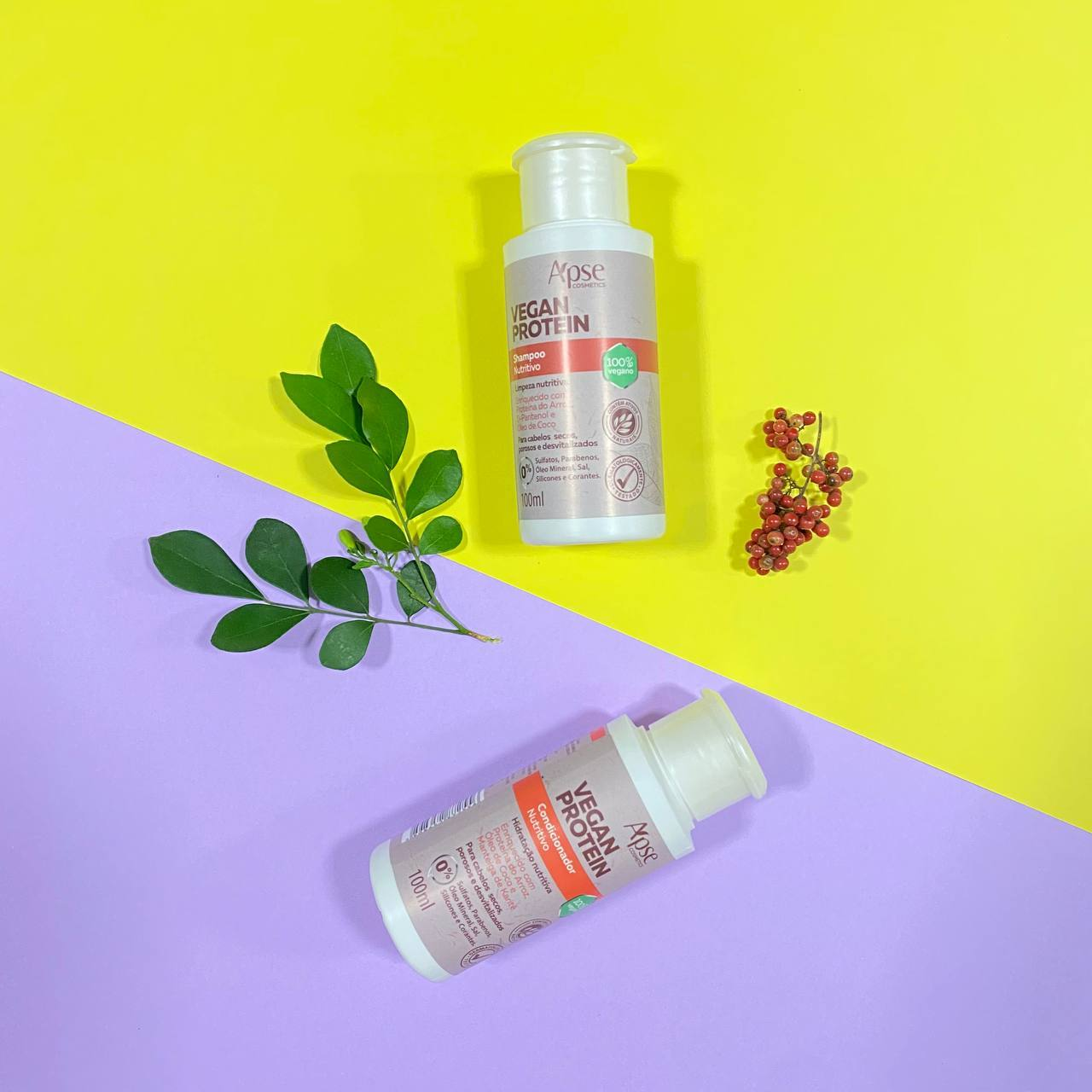 Kit Viagem Vegan - Apse Cosmetics