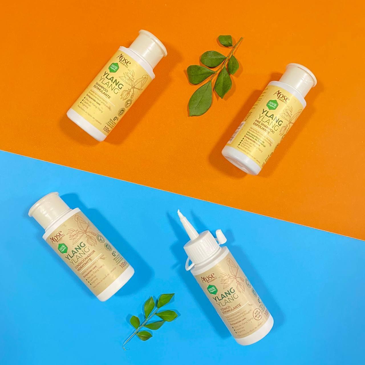 Kit Viagem Ylang Ylang (4 ITENS) - Apse Cosmetics