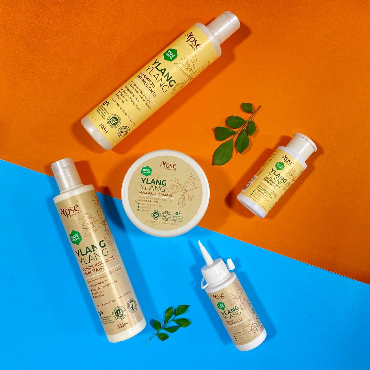 Kit Ylang Ylang (5 ITENS) - Apse Cosmetics