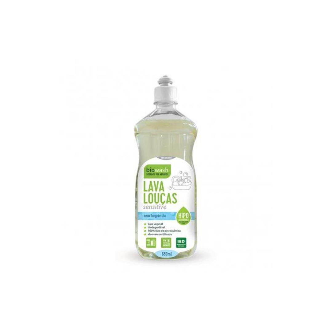 Lava Louças Sensitive  BioWash 650ml