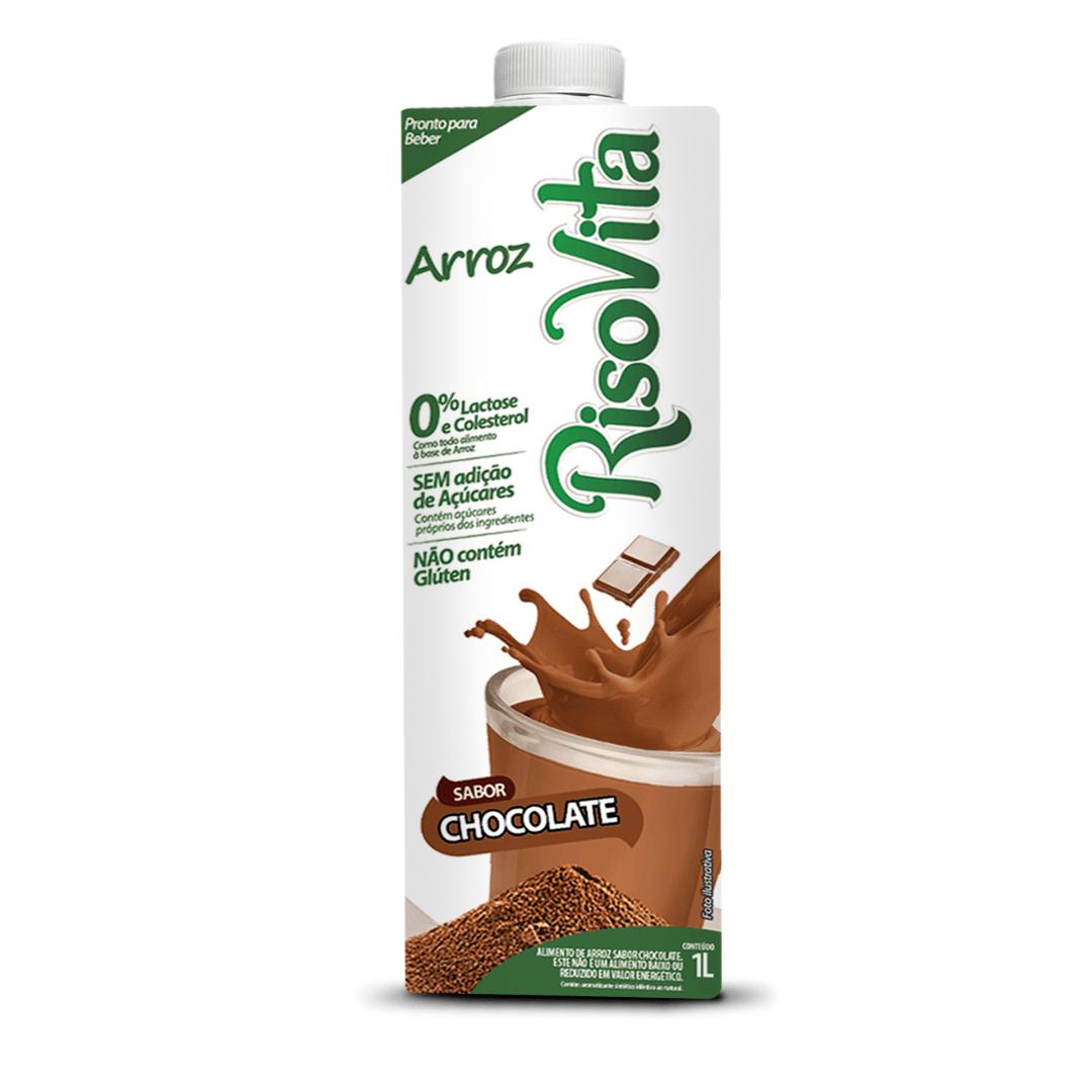 Leite de Arroz com Chocolate Risovita 1l
