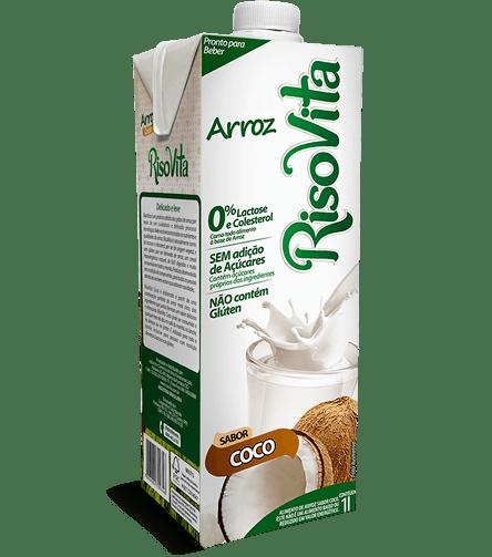 Leite de arroz sabor coco Risovita 1L