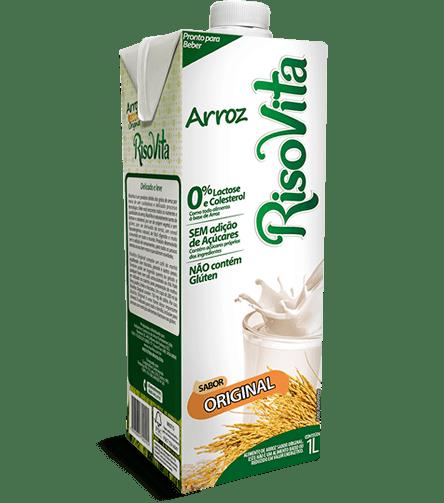 Leite de arroz sabor original Risovita 1L