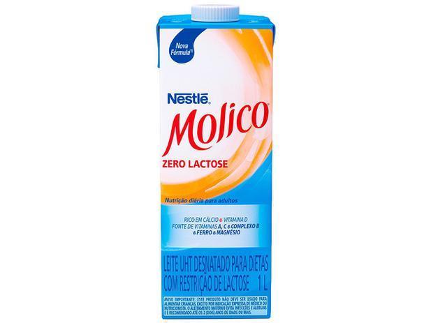 Leite Desnatado Zero Lactose Molico Nestlé 1L