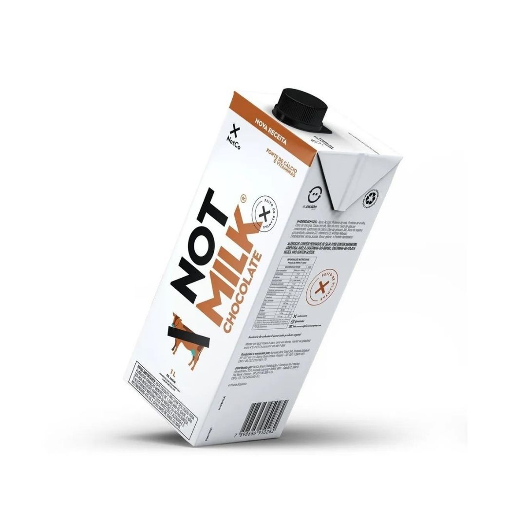 Leite Vegetal Not Milk de Chocolate 1L – NotCo