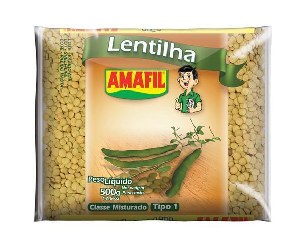 Lentilha Amafil 500g