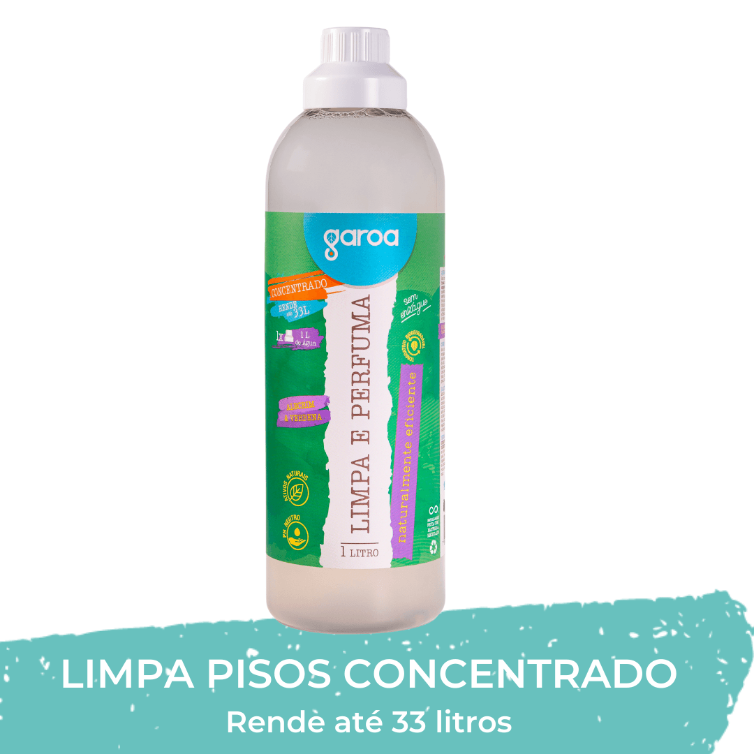 Limpa e Perfuma Garoa Alecrim & Verbena 1 litro
