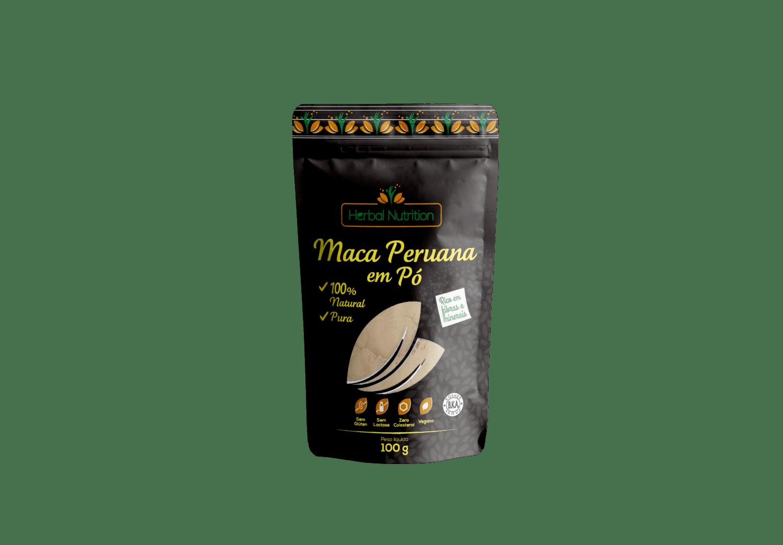 Maca Peruana em Pó - Herbal Nutrition 100g