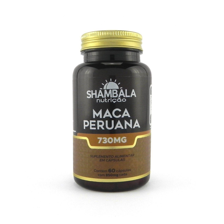 Maca peruana Shambala 730mg - 60 cápsulas