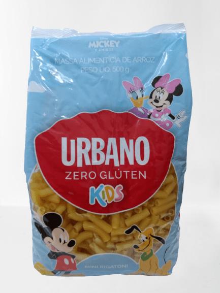 Macarrão de arroz Kids Mini Rigatoni Urbano 500g