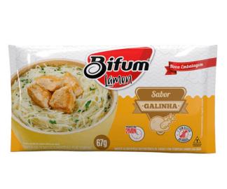 Macarrão instantâneo de arroz lámen sabor galinha Bifum 67g