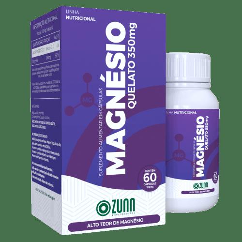 Magnésio Quelato 350mg - 60 cápsulas