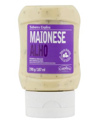 Maionese com alho Cepêra 190g