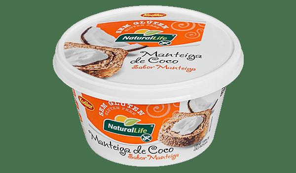 Manteiga de coco sabor manteiga 210g Natural Life