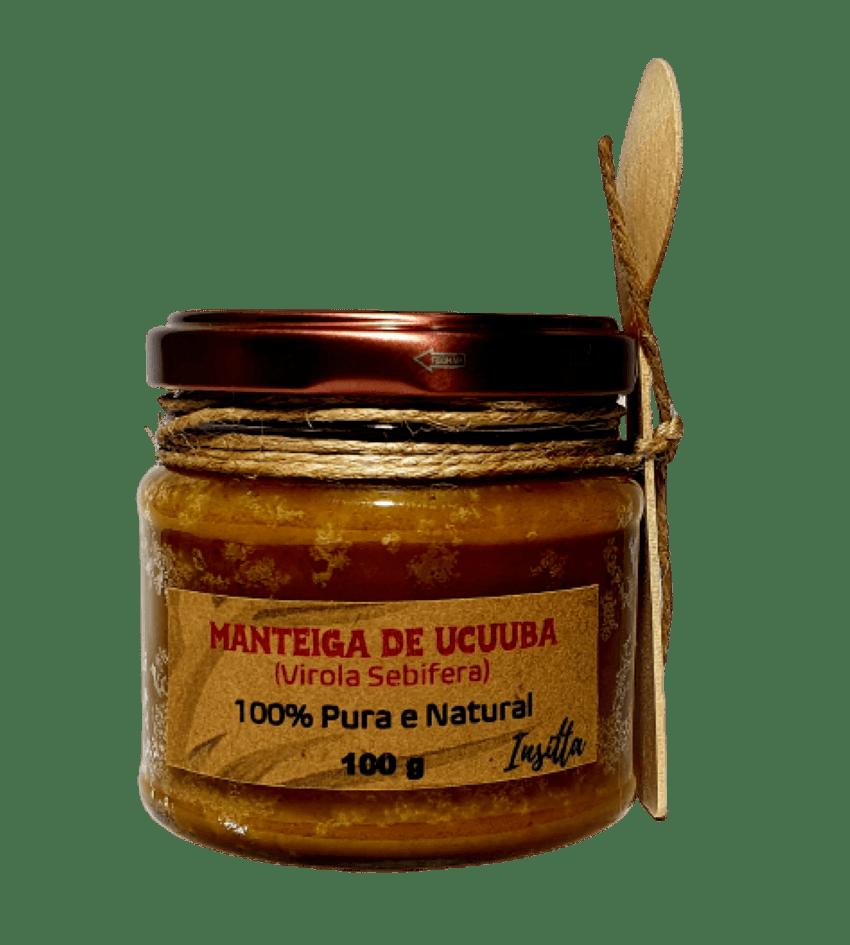 Manteiga de Ucuuba  da Amazônia Prensada a Frio100% Pura e Vegana 100g Insitta