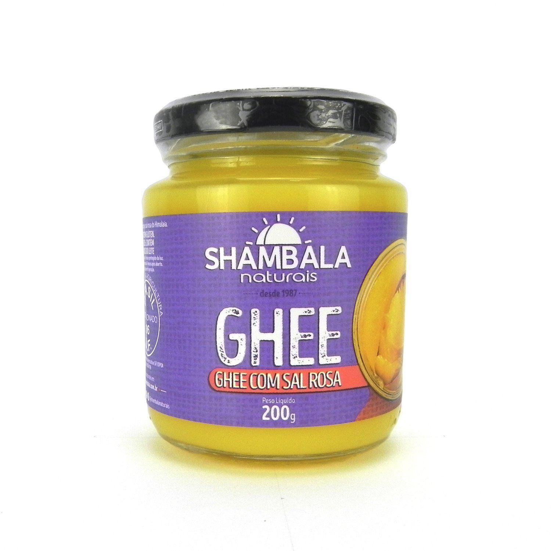 Manteiga Ghee com Sal Rosa Shambala 200g