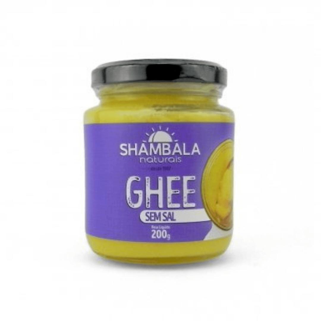 Manteiga Ghee Tradicional Sem Sal - Shambala 200g
