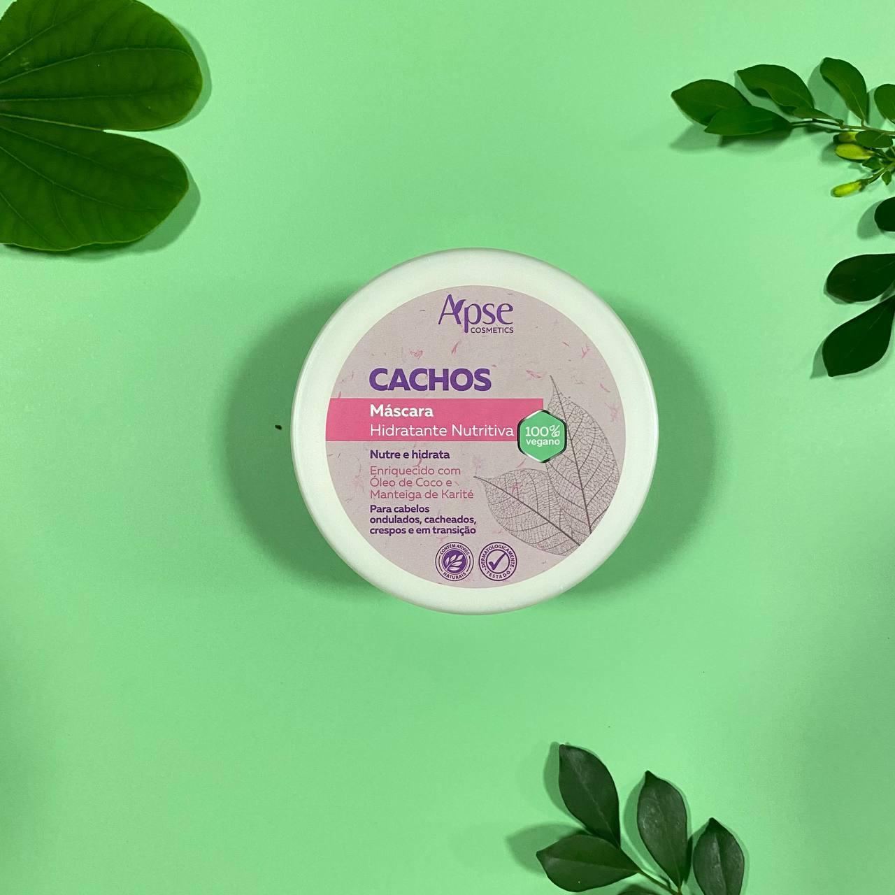 Máscara Hidratante Nutritiva Cachos - Apse Cosmetics 300g