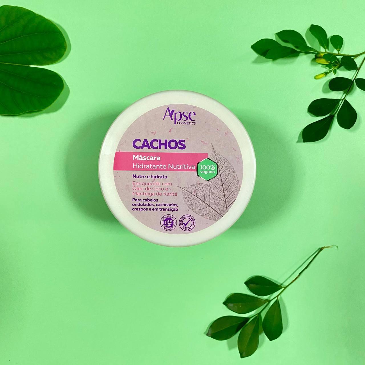 Máscara Hidratante Nutritiva Cachos - Apse Cosmetics 500g