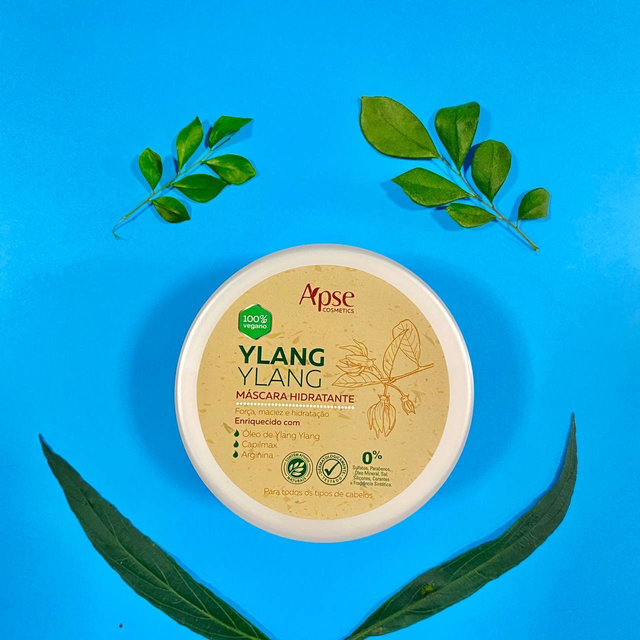 Máscara Hidratante Ylang Ylang - Apse Cosmetics 300g
