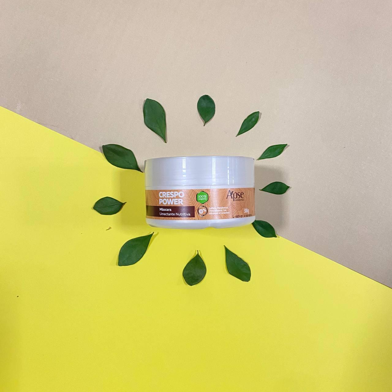 Máscara Umectante Nutritiva Crespo Power - Apse Cosmetics 300g