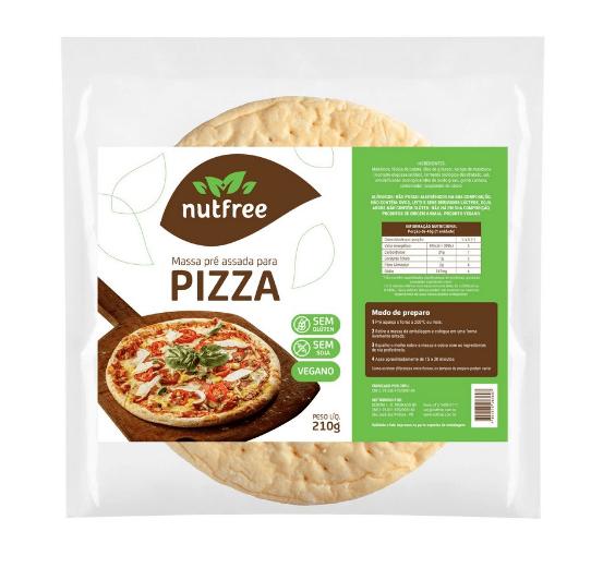 Massa pizza NutFree 210g