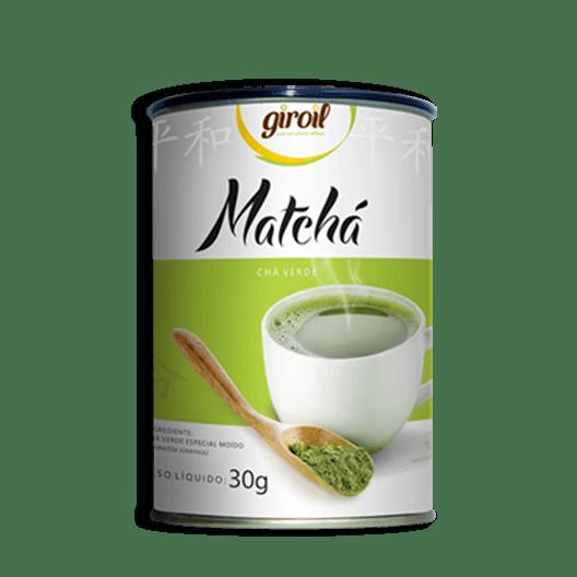 Matchá Giroil (Chá Verde Especial Moído) - 30g