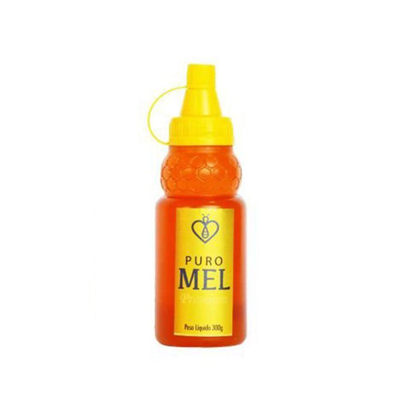 "Mel Puro Premium 300g Florada Silvestre ""Blend"" Fino de mesa HerboMel Natural"