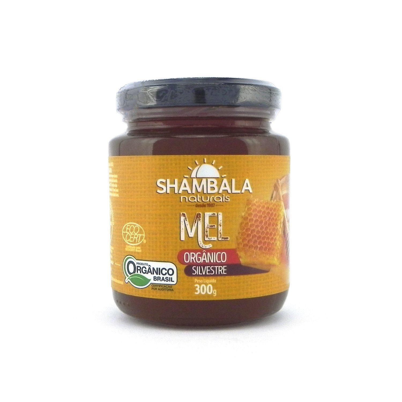 Mel silvestre orgânico Shambala 300g
