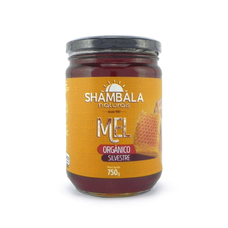 Mel silvestre orgânico Shambala 750g
