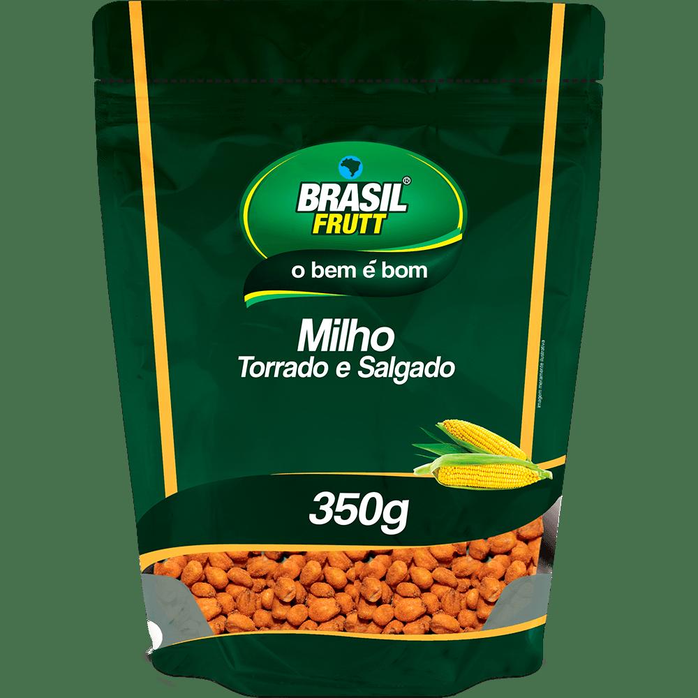 Milho torrado e salgado Brasil Frutt 350g
