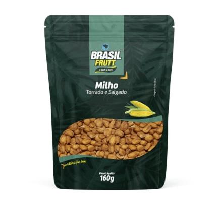 Milho torrado e salgado Brasil Frutt 160g