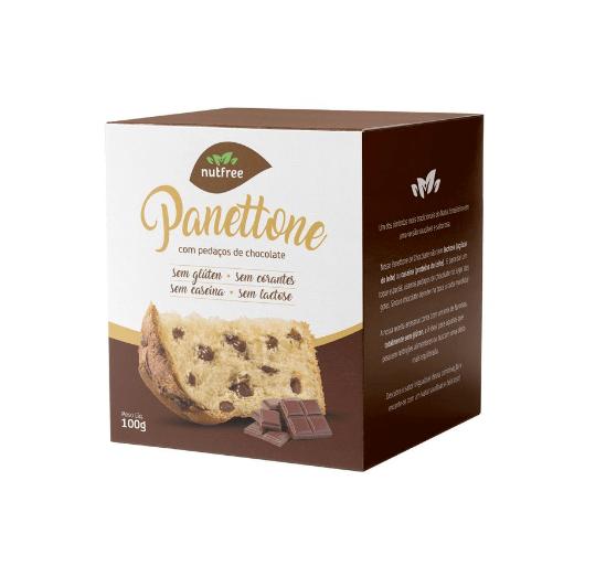 Mini panetone chocolate gourmet NutFree 100g