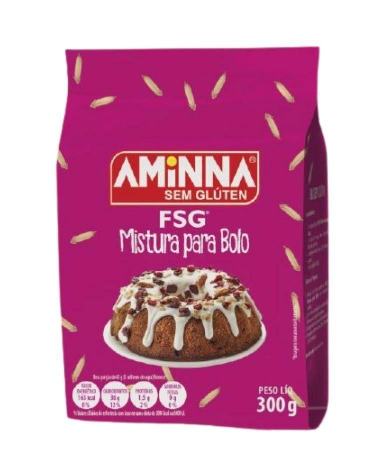 Mistura para bolo Aminna 300g