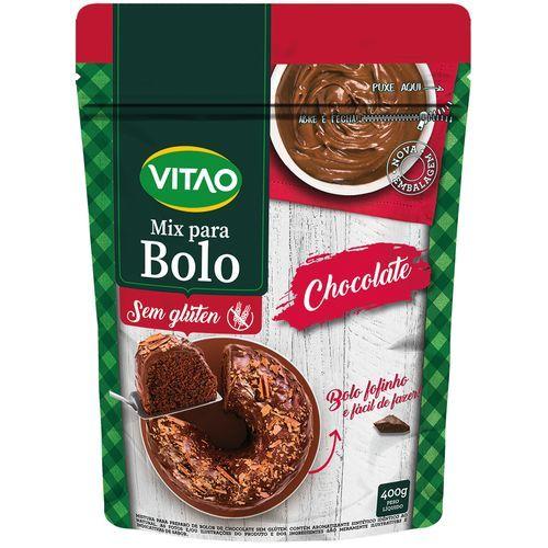Mistura para bolo de chocolate Vitao 400g