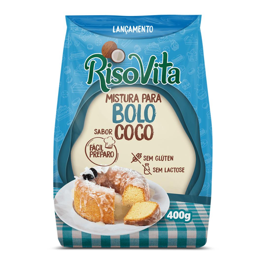 Mistura Para Bolo De Coco Risovita 400g