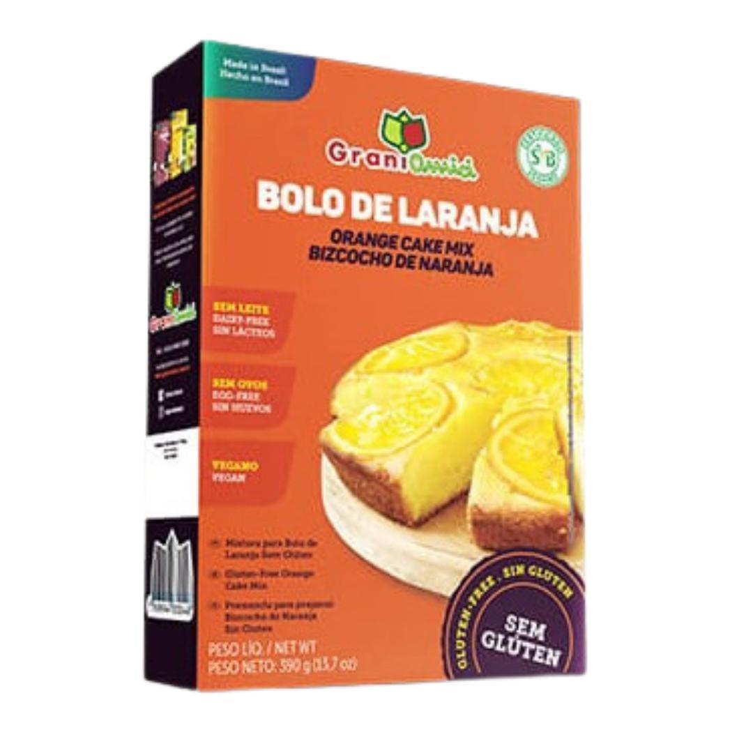 Mistura para bolo de laranja Grani Amici 390g