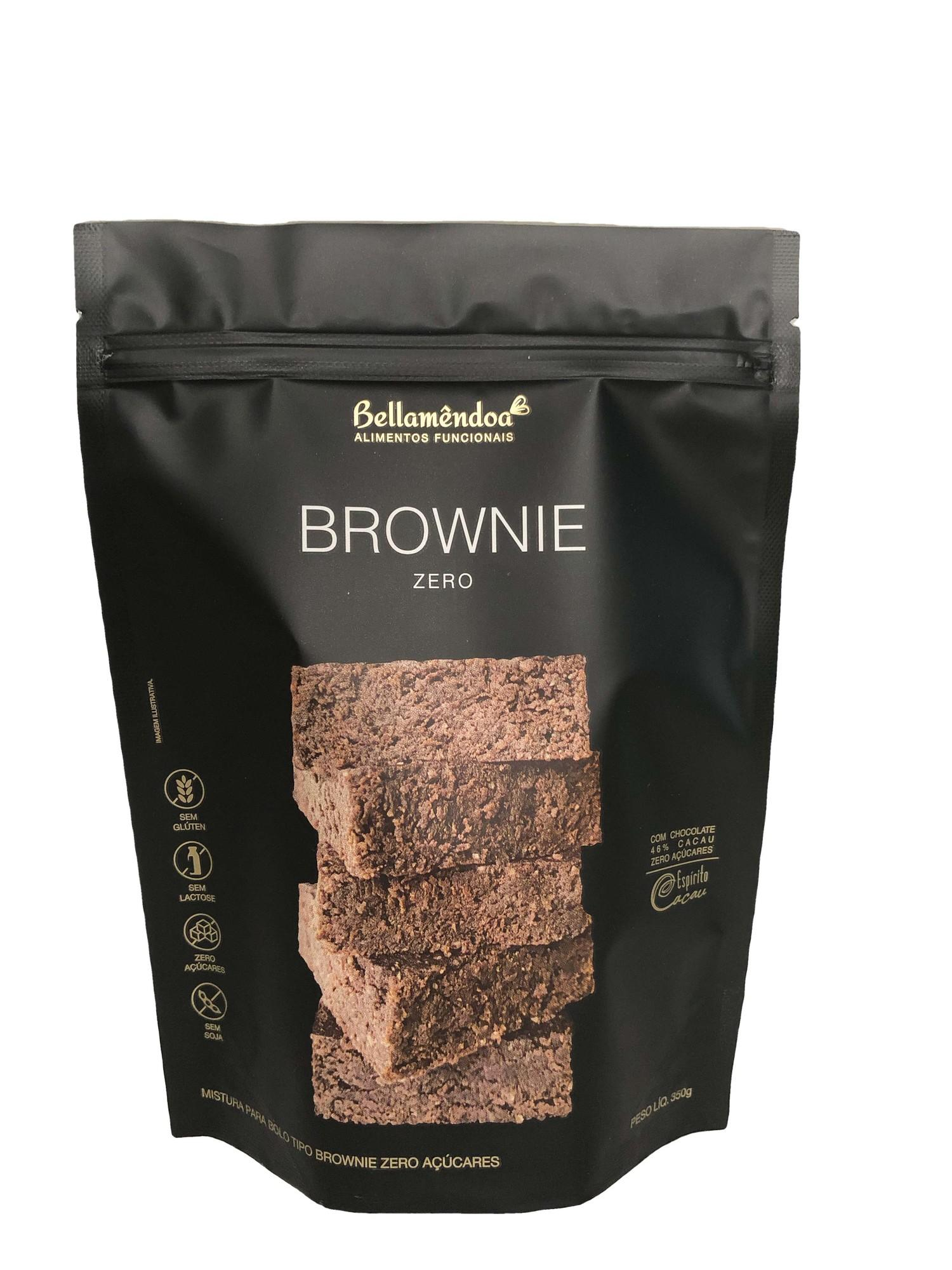 Mistura para Brownie Zero Bellamêndoa 350g