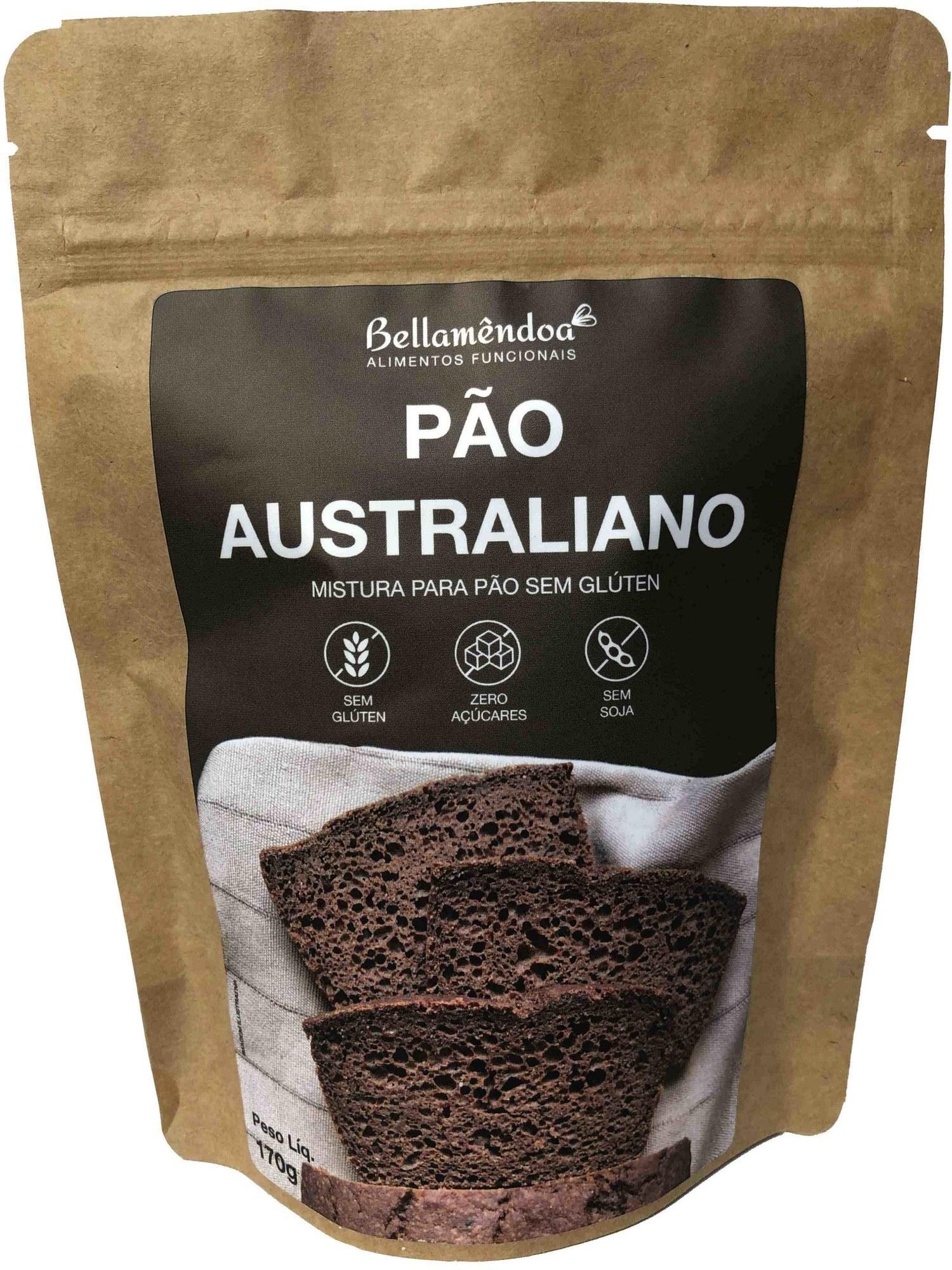Mistura para Pão Australiano Bellamêndoa 170g