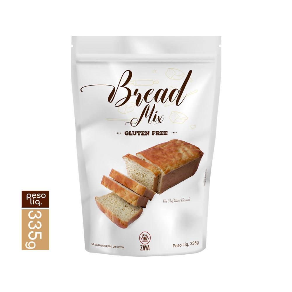 Mistura para pão bread mix Zaya 335g