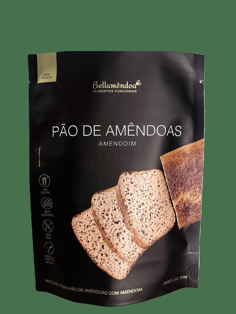 Mistura para Pão de Amêndoas - Amendoim Bellamêndoa 170g