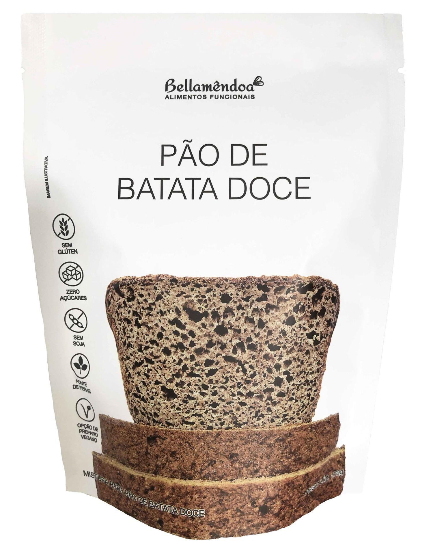 Mistura para Pão de Batata Doce Bellamêndoa 170g