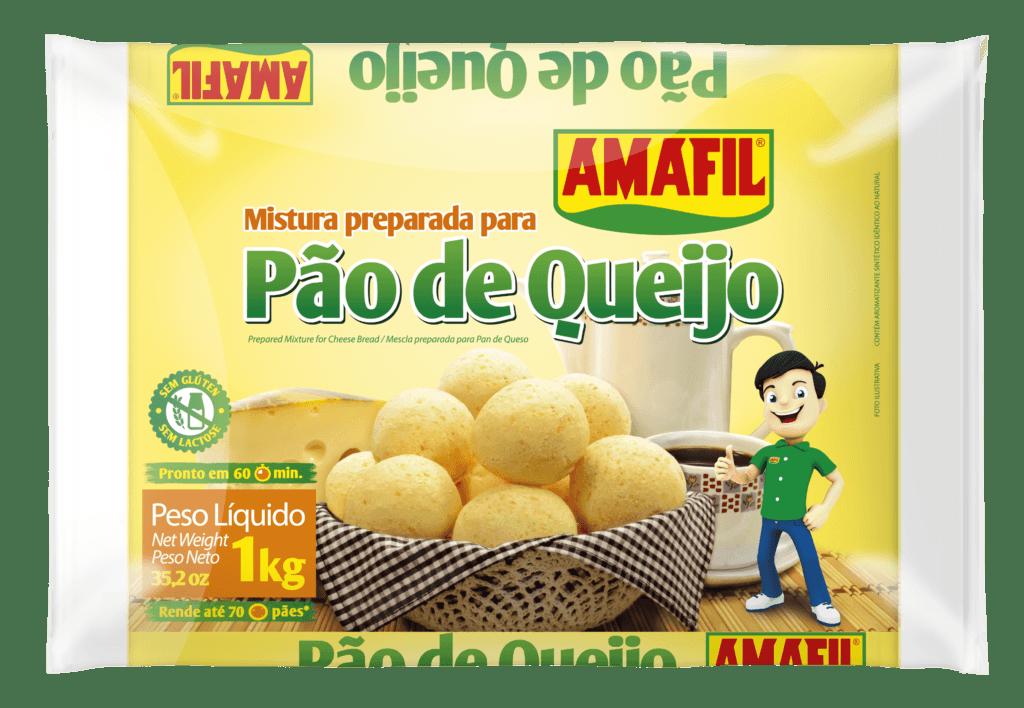 Mistura para pão de queijo Amafil 1Kg