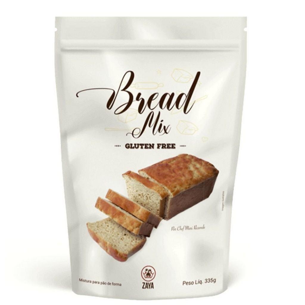 Mistura para Pão Sem Glúten Zaya 335g