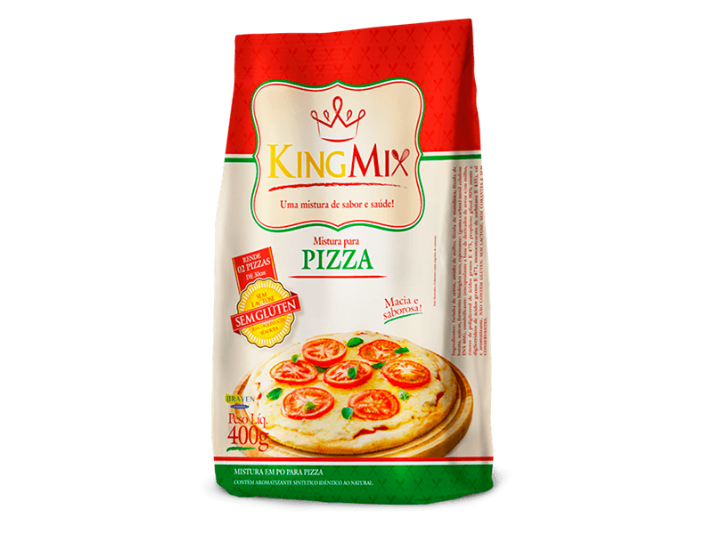 Mistura para pizza King Mix 400g